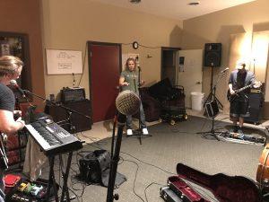 John jams with the band